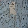 クマのバスタオル