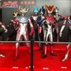 新宿のピカデリーに映画公開記念でウルトラマンが集結♪♪