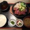 牛ハラミステーキ定食/砂漠楼 恵比寿本店