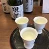 「森ノ宮キューズモールBASE」で日本酒の飲み比べ