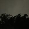 沖縄に台風上陸中