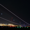 鹿児島空港、飛行機無しの。