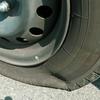 【初体験】車のタイヤがパンクして焦った話