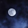 雲間の不知夜月