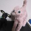 わたしの宝ものはピンクの猫です