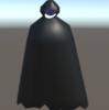 Unity Clothで簡単にリアルな布の表現~フード付きマント~