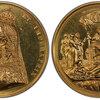 イギリス1887年ヴィクトリア女王戴冠50年大型メダルPCGS SP62