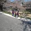 藤田川に花見に行って来ました