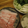 小谷野豚と長野旅の野菜鍋