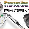 ゴルフコースのゴルフバッグも華やかに格好良く。。スッキリと気分よく見えませんか。。PMGrindのウエッジが結果を良くします。。