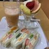 京都のおいしいフルーツサンド(ヤオイソ)