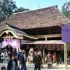 年末年始の旅、四日目は国宝の神社へも行きました。