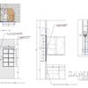 レジカンター横のFIX窓詳細図事例