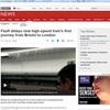 英高速鉄道、座席がずぶ濡れ 日立製車両「出発に暗雲」