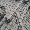 屋根の上で素晴らしい仕事に出会いました。