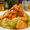 【レシピ】鶏むね肉で♬しっとりピリ辛ホイコーロー♬