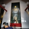 約30分ほど待って、いよいよ博物館に入場、中国の兵馬俑を見学です。