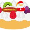 【ケーキを作ろう】無料イラスト素材♪クリスマス会の出し物、スケッチブックシアターやパネルシアター・ペープサートに♪幼稚園・保育園・学童・介護施設などにオススメ
