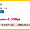 【ハピタス】JCB一般法人カードが4,000pt(4,000円)! さらにJCBギフトカード最大7,000円分プレゼントも!