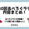 【あべろぐラジオ 対談編】 11月の振り返り(雑談ver)!『第40回あべろぐラジオ』内容まとめてみたよ!