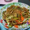 今日の晩飯 チャプチェと中華風スープを作ってみた