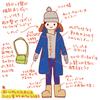 クリスマスマーケットの防寒ファッション