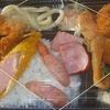 [20/01/16]「琉花」の「シャケの塩焼きヒラミレモン風味(日替わり弁当)」 300円 #LocalGuides