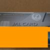 JALアメリカン・エキスプレス・カード開封の儀