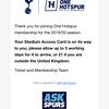 トッテナム・ホットスパーFCのメンバーシップカードが届いたので語る