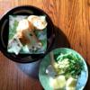 簡単な朝食じかん・春菊サラダ・フランスパン【小さな幸せのひととき】#09
