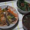 鯵の南蛮漬け&つるむらさきと納豆の和え物~晩御飯の記録~