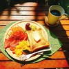 【週末ブランチ】厚切りトーストの盛り付けはどうしましょうか?