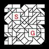 四角渡り迷路:問題11