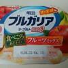 明治ブルガリアヨーグルト【脂肪ゼロ食べごろあじわいフルーツミックス】180gを食べた