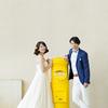 幸せを運ぶ黄色いポスト【2020年春 ウエディングフォト】