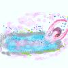 肌寒や湯船の中のバレリーナ