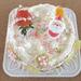 一足早いクリスマスケーキ