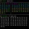 Linuxメモ : Rust製のhexylコマンドで色分け16進数表示