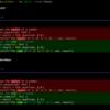 Linuxメモ : Rust製のdeltaでgit diff, diffをシンタックスハイライトして表示