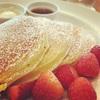 週末の朝は、バターミルクパンケーキと猿田彦珈琲@サラベス