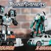 【ロボット イン ディスガイズ/RID 2001】トランスフォーマー ロボットインディスガイズ スパイチェンジャー X-ブローン&スカージ レビュー