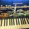 鍵盤の清掃を行いました
