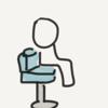 フィギアスケートと角運動量と回る椅子