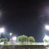 夜の岩国新港(山口県岩国市)2