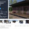 【無料化アセット】荒れ地に最適な古民家スタイルの木造建築。レトロな家具・家電が豊富! 建物外観と内装込みのホラー系3Dモデル「Wasteland Cabin」