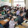 4の3:英語授業 ランニング 環境整備ボランティア
