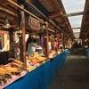 ロシア-バイカル湖 ご飯食べるならここ!バイカル湖を味わう、自然遺産沿いにある市場へ行ってみた。