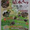 三重県植木まつりの準備