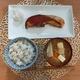 焼き鮭と豚汁定食を作りました。