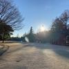 冬場の作業風景